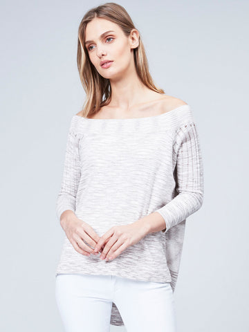 Shaker Pullover with Fringe
