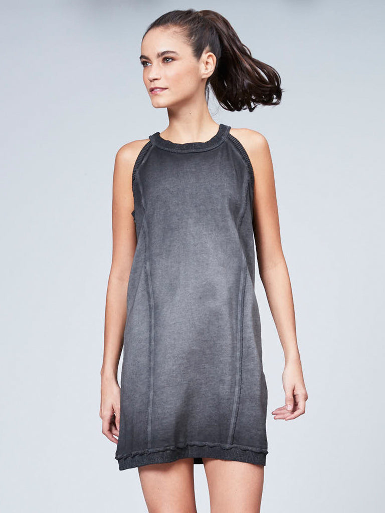 Spray Dye Sweater Dress