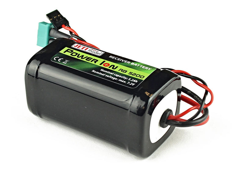Jeti Receiver Battery Pack 6200mAh 7.2V Li-Ion Power RB