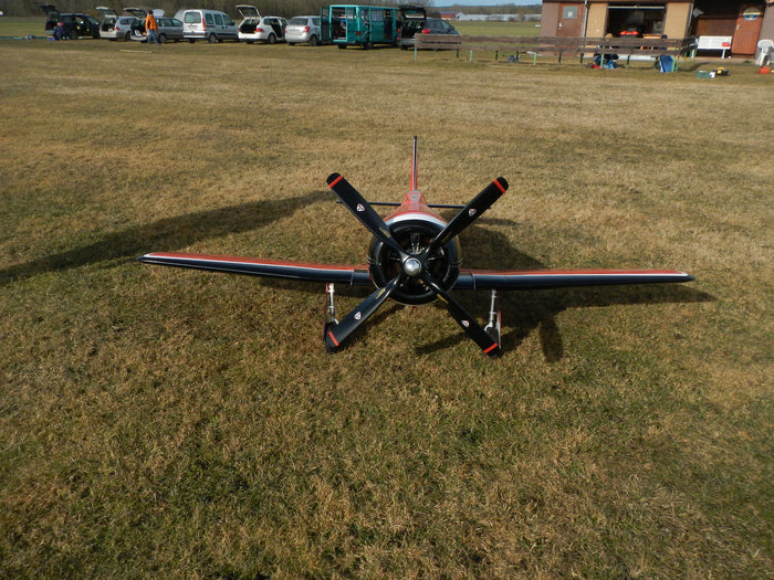 Moki S250 with Planetary Drive SP-250-X by Mario Seidel and Seidel-Props