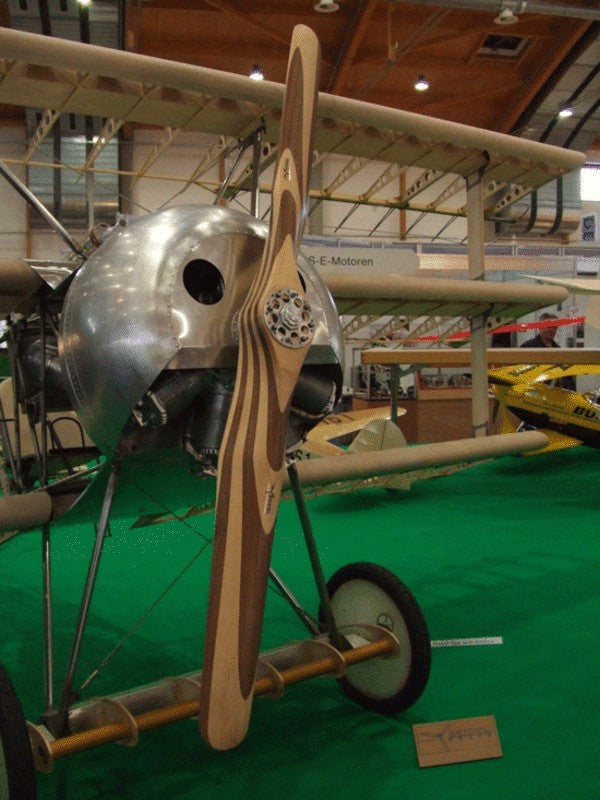 Seidel Museum Scale Flying Props