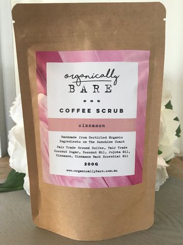Cinnamon Coffee Scrub 220g