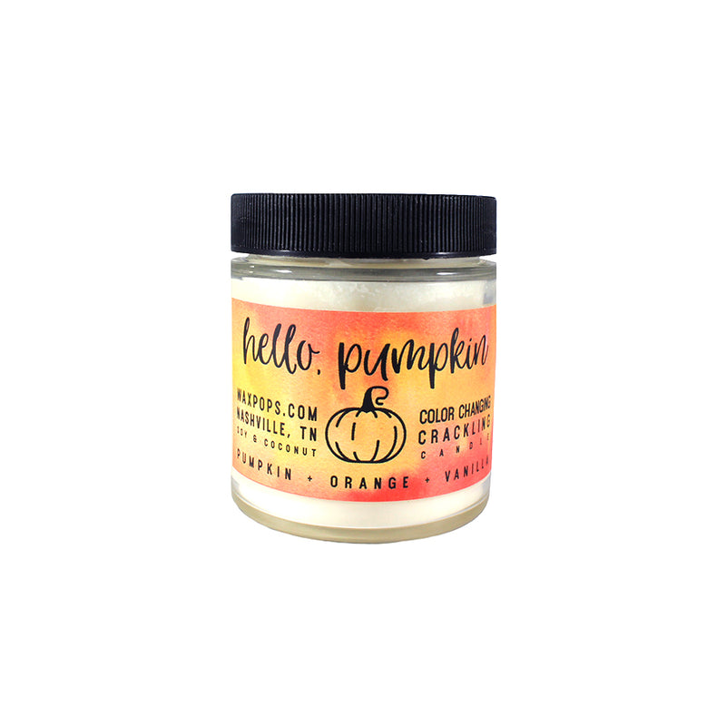 Hello, Pumpkin Candle