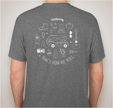 That's How We Roll: Class C | Short Sleeve T-Shirt - Grey