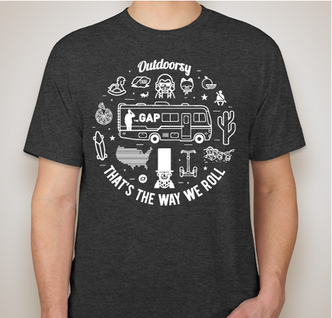 The Great American Pilgrimage | Short Sleeve T-Shirt - Black