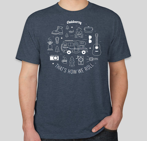 That's How We Roll: Class C | Short Sleeve T-Shirt - Blue