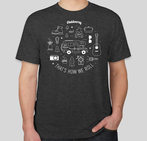 That's How We Roll: Class C | Short Sleeve T-Shirt - Charcoal