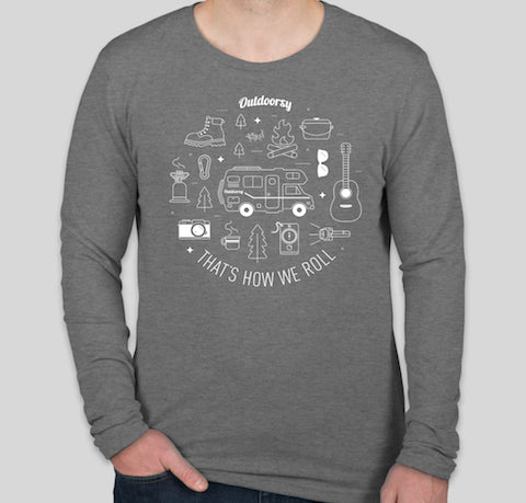 That's How We Roll: Class C | Long Sleeve T-Shirt - Grey