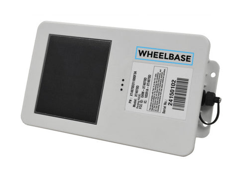 Wheelbase GPS Tracker (Solar Powered Asset Tracker)