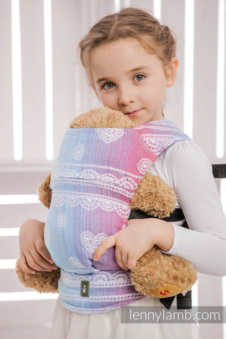 Lenny Lamb Doll Carrier - Rainbow Lace