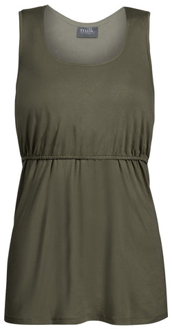 Essential Nursing Tank Top- Olive