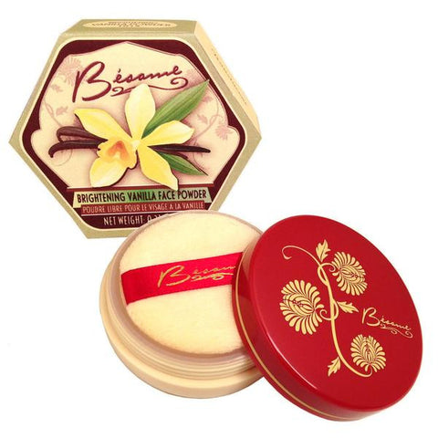 Bésame Vanilla Brightening Powder - In-store only