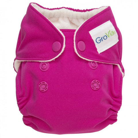 GroVia Newborn All In One Diaper - Lotus