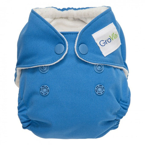 GroVia Newborn All In One Diaper - Topaz