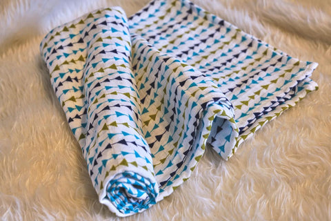 Picket Fence Creations Swaddle Blanket - Arrows