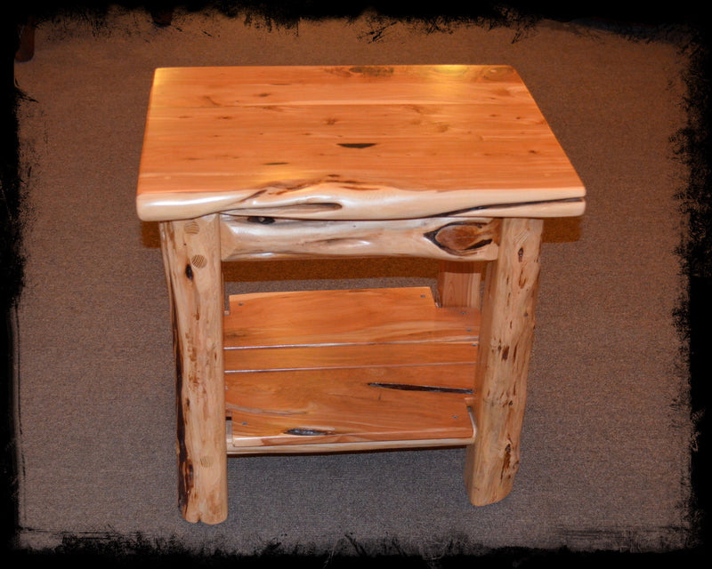 "Cedar 24"" End Table"