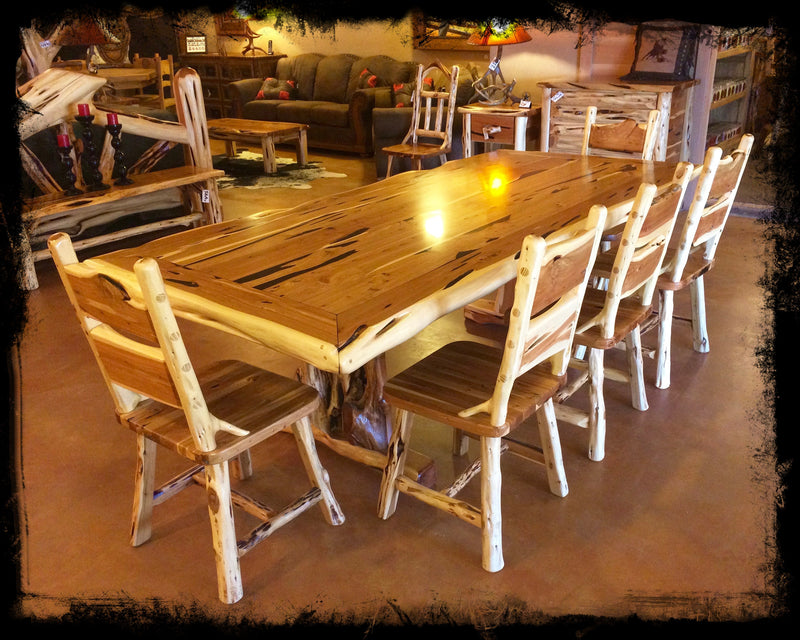 8' Cedar Dining Table