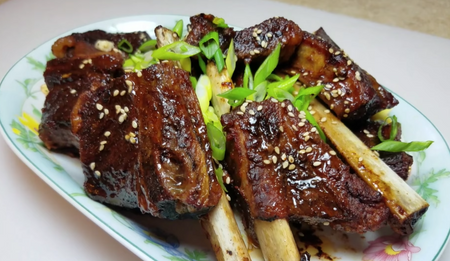 Korean Food Favorites: Oven Baked Short Ribs