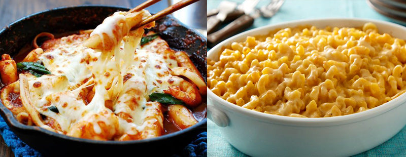 Korean Food vs. American Food