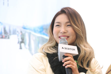 Chloe Kim being featured by KPOP for PyeongChang