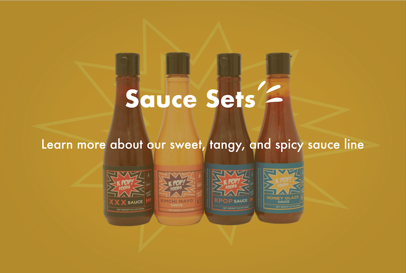 Korean hot chili sauce pack