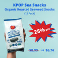 KPOP Sea Snacks - Premium Organic Seaweed Snack (24 Pack)