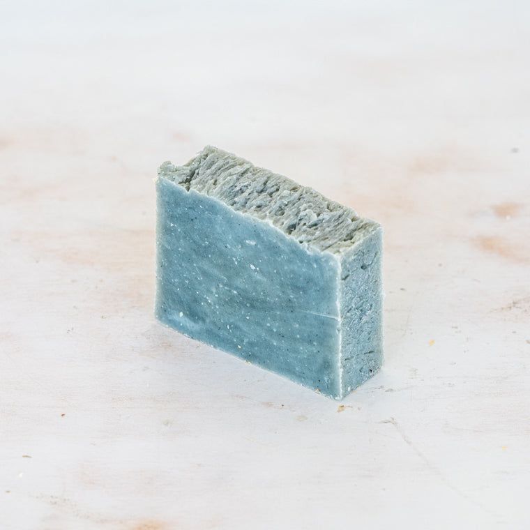 Peppermint Blue Clay Soap Bar