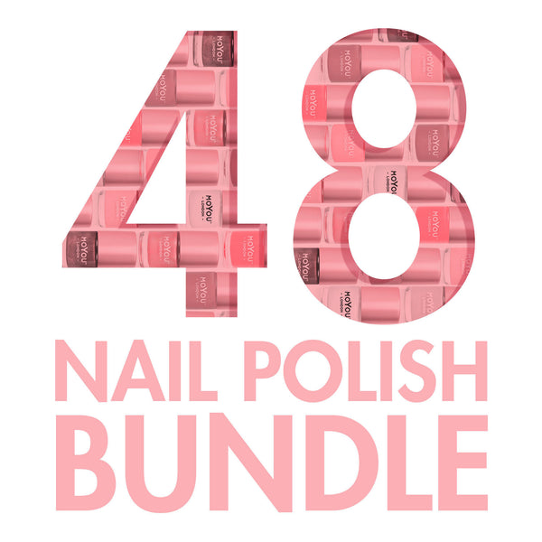CRAZY 48 NAIL POLISH BUNDLE - NEW VERSION - Funky Goddess