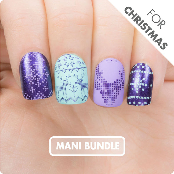 MANI Bundle - Purple Xmas XL