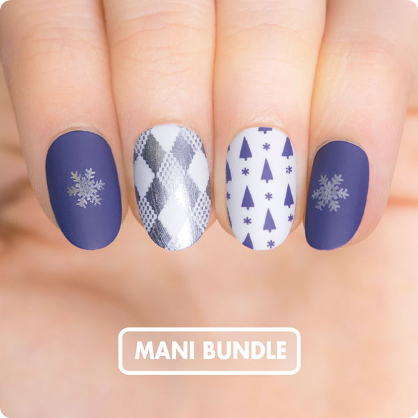 MANI BUNDLE - SNOWY MORNING XL