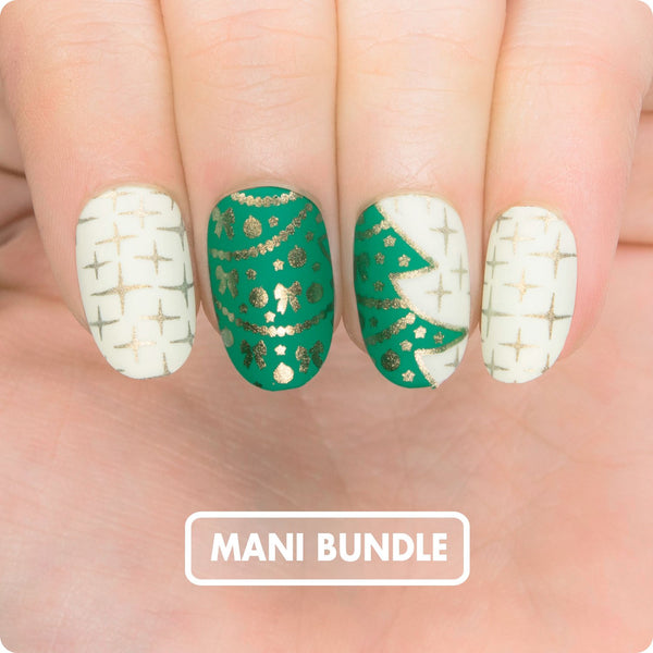 MANI BUNDLE - CHRISTMAS TREE