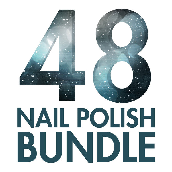 NEW! WINTER 48 NAIL POLISH BUNDLE