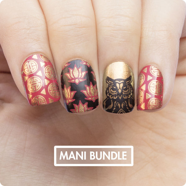 MANI Bundle - China Gold