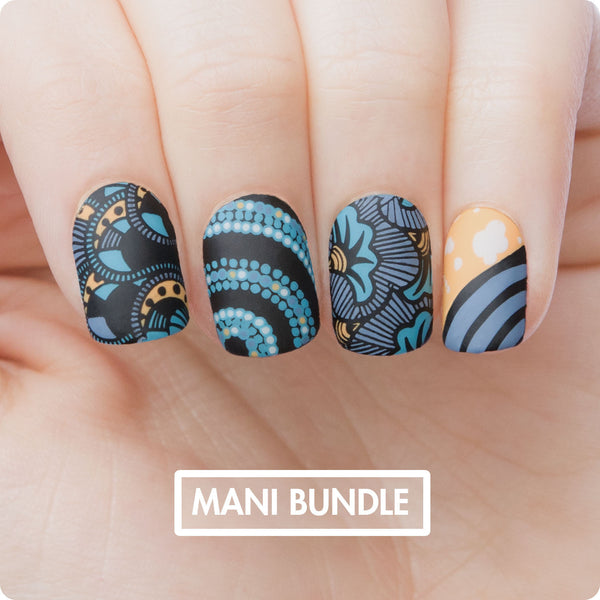 MANI Bundle - Africa Blue
