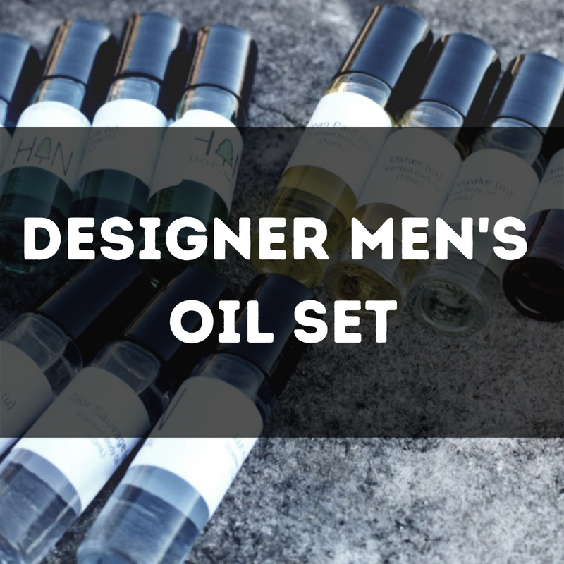 Designer Mens Oil Set