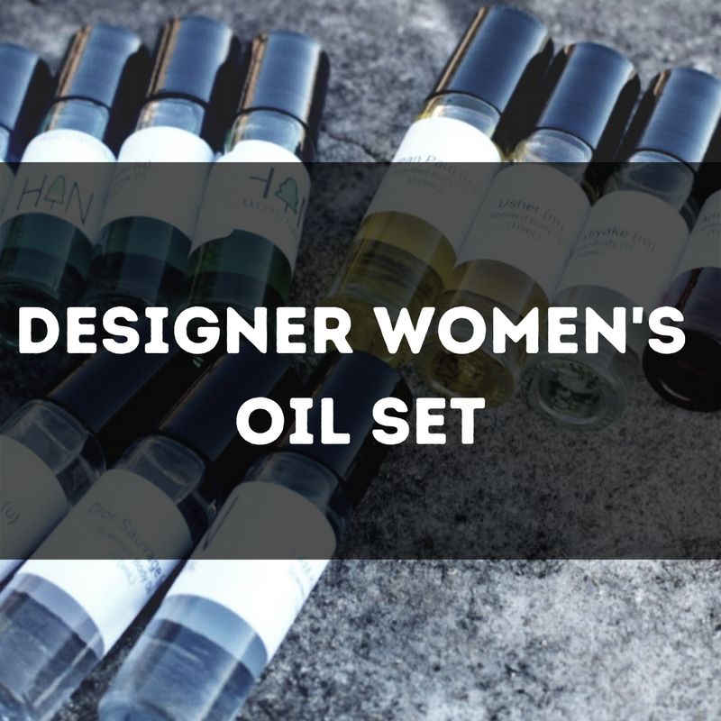 Designer Women's Oil Set