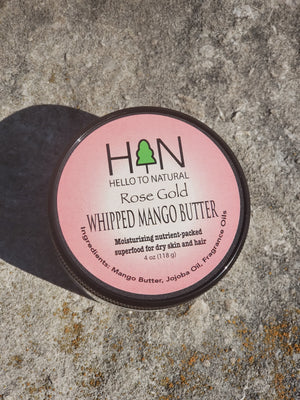 Rose Gold Whipped Mango Butter