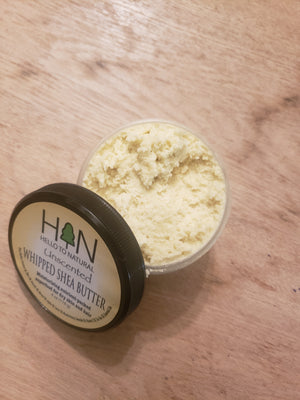 Unscented White Whipped Shea Butter