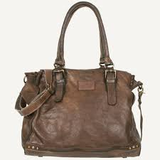 Tasche Bull & Hunt Frida Business Shabby Olive Brown