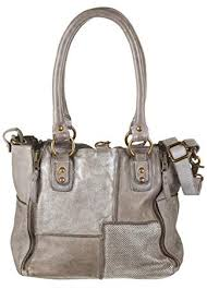 Tasche Bull & Hunt Jackie Patch grey