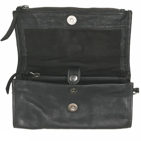 Tasche Clutch Bull & Hunt Casual Square silver/grey