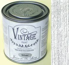 Vintage Paint Metallic Farben