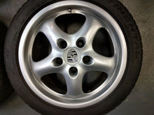 993 Porsche Cup II Wheels w/ tires (USED) 17x7 & 17x9