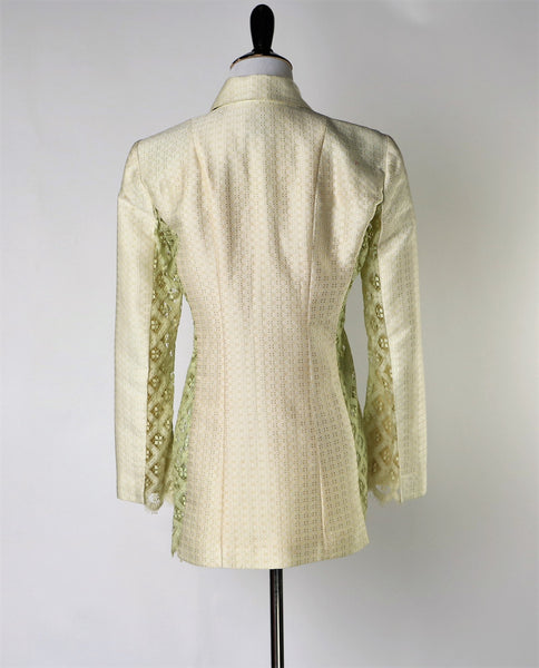 Vintage Christian Lacroix Lace and Brocade Top/Jacket: Bazar Collection