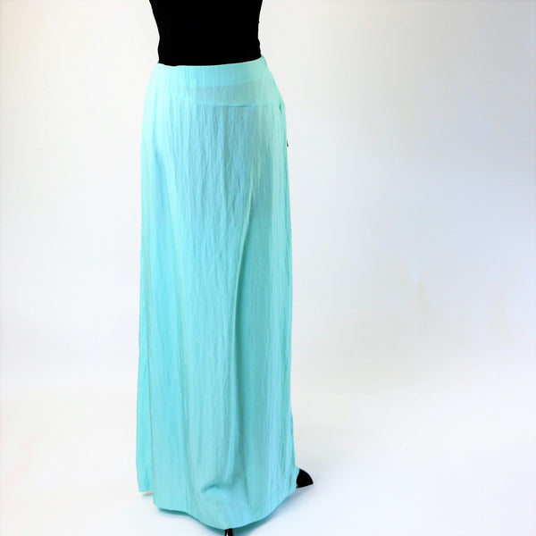 Emanuel By Emanuel Ungaro Blue Maxi Skirt - New/Old Stock With Tags 12/46