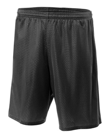 "Physical Education Adult Size Short 7"" Inseam - Black"