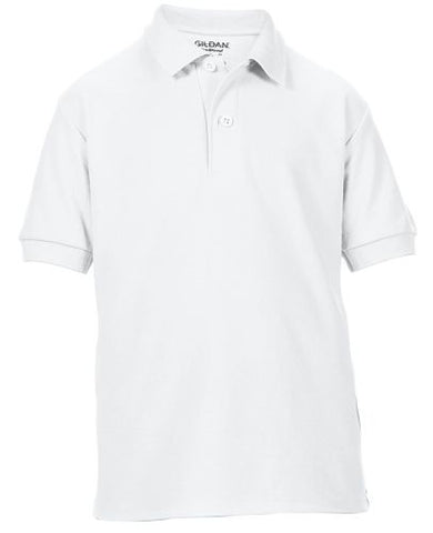 Holy Rosary White School Uniform Shirt - with Embroidered Logo