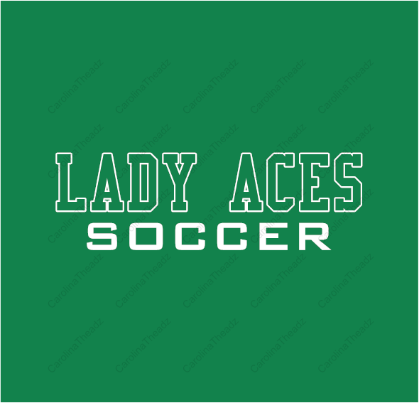 Lady Aces Soccer - Short Sleeve Wicking Practice Shirt