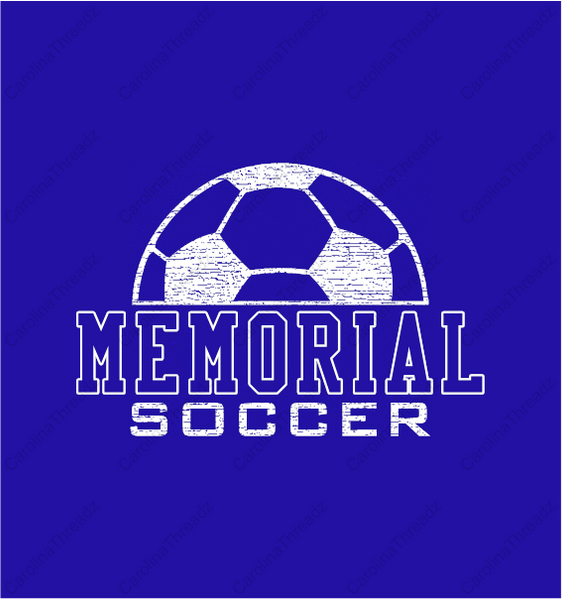 Memorial Tiger Soccer - Short Sleeve Spirit Tee