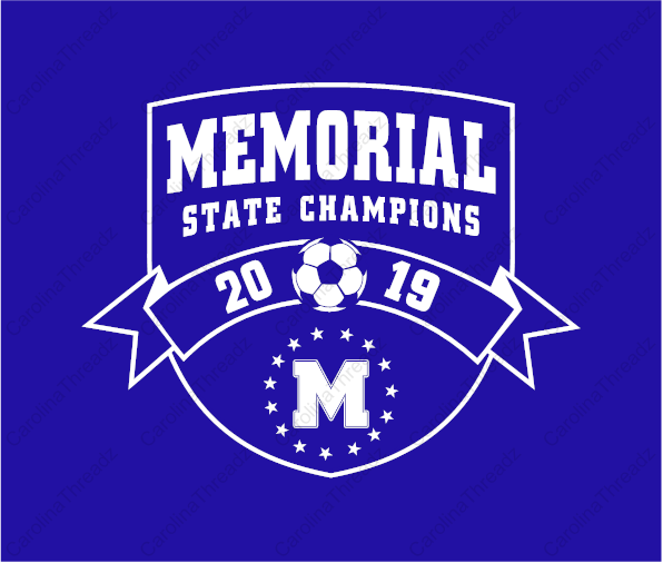 Memorial Tiger Soccer - STATE CHAMPIONS Long Sleeve Tee